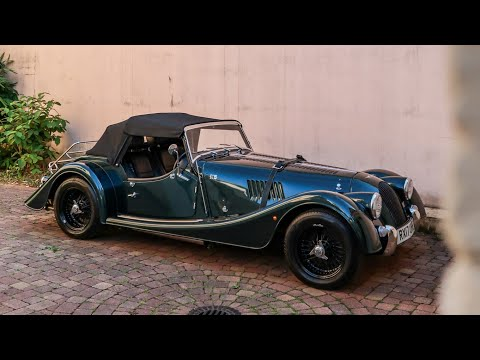MY NEW GREEN MORGAN ROADSTER !