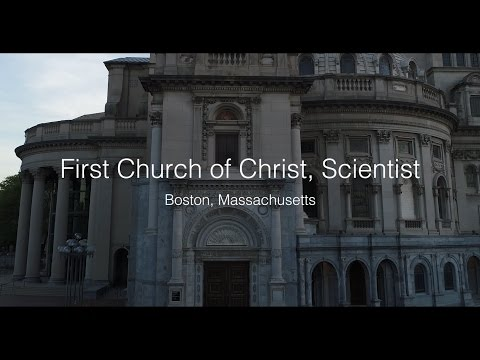 First Church of Christ,  Scientist - Boston Massachusetts Drone Video