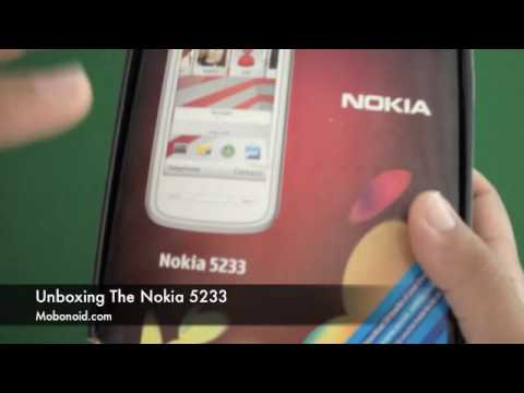 Unboxing The Nokia 5233