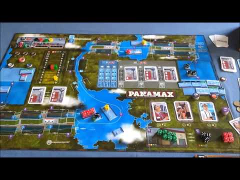 Panamax: Variant for Solo play and 2 player games
