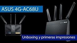 ASUS 4G-AC68U: Conoce este router 4G LTE de sobremesa