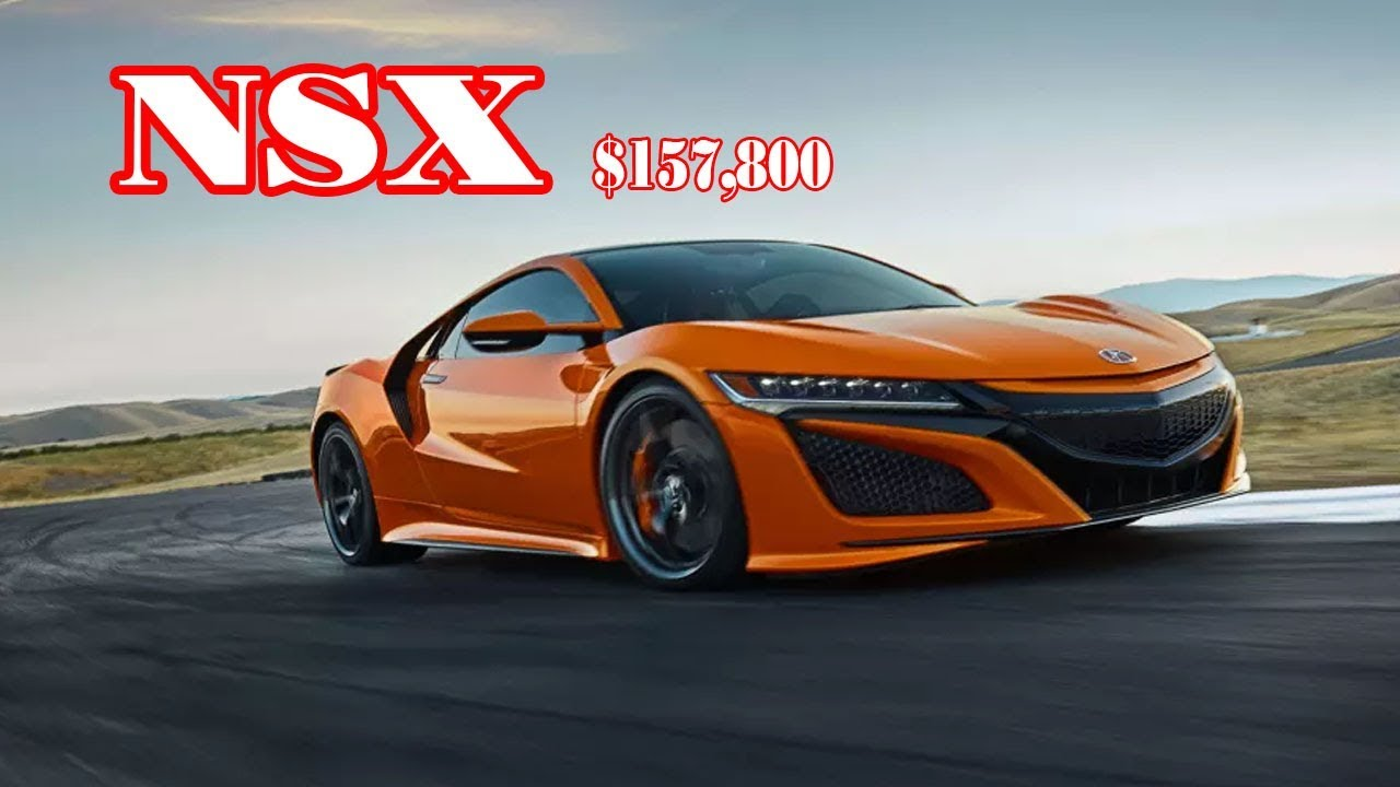 2019 Acura Nsx Top Speed 2019 Acura Nsx Type R Price 2019 Acura