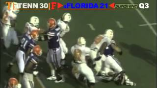 1995: #4 Florida Gators vs. #8 Tennessee Volunteers