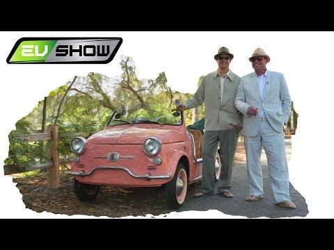 The EV Show - April 2015 - Episode 5 - Fiat Jolly 500 in Rancho Santa Fe