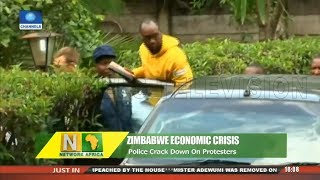 Zimbabwe Economic Crisis: Police Crack Down On Protesters  Network Africa 