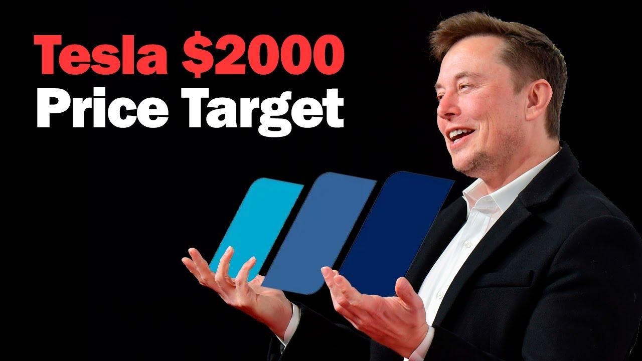 Tesla Gets New $2000 Price Target from Wedbush