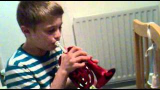Pocket trumpet - what a treat for the parents!!