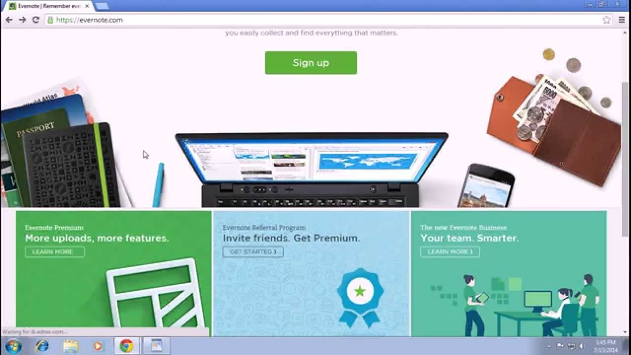 Evernote Login and Sign In | Evernote Tutorial 2014
