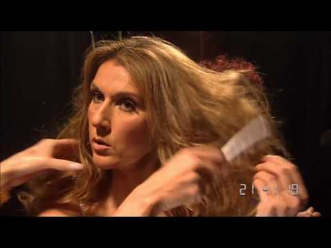 Celine Dion quick outfit changes backstage!