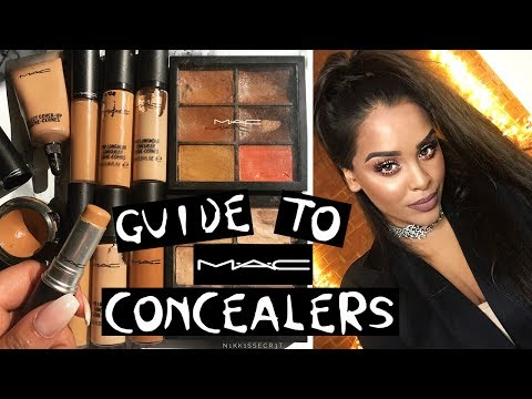 Guide to M.A.C CONCEALERS -which one is BEST for YOU?! NikkisSecretx