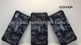 [ iCover.vn ] Mở hộp Ốp lung UAG Pathfinder Se Camo Series iPhone Xs Max | Hàng chính hãng UAG |