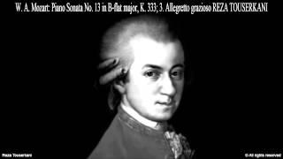MOZART Piano Sonata No. 13, III. Allegretto grazioso (Reza Touserkani)