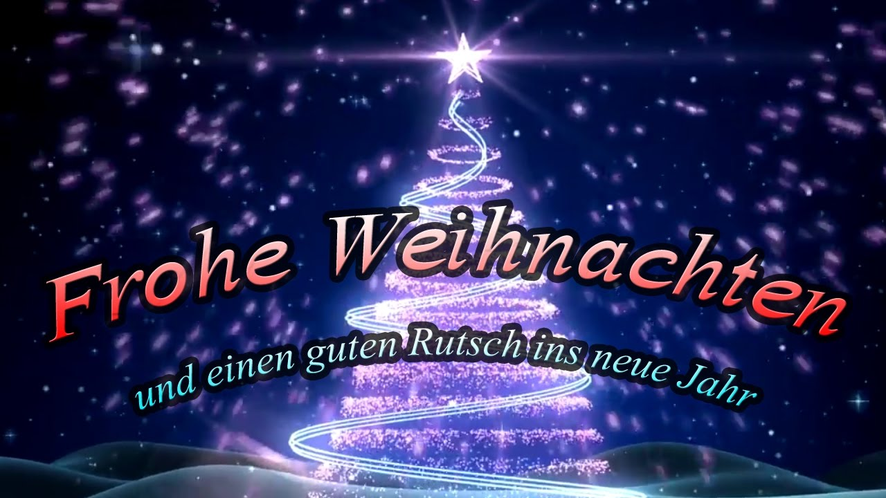 Frohe Weihnachten Und Einen Guten Rutsch Ins Neue Jahr In 2017