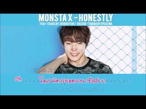 [Karaoke-Thaisub] MONSTA X - Honestly(솔직히 말할까) by ipraewaBFTH