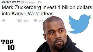 Top 10 Dumbest Kanye West Tweets
