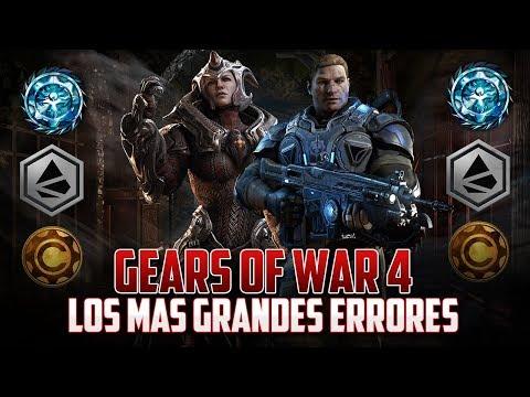 Gears of War 4   Los Errores más Grandes del Juego!!