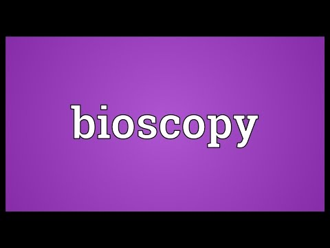 Header of bioscopy
