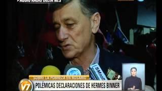 Visión 7: Polémicas declaraciones de Hermes Binner