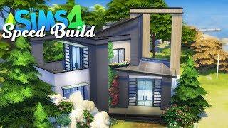 Nowoczesny rodzinny dom w Windenburgu - The Sims 4 Speed Build