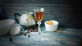Настойка из ягод шиповника с кофе и апельсиновой цедрой