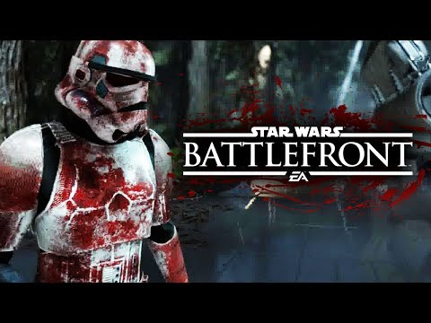 Star Wars Battlefront - Zombie Death Troopers Mod Gameplay! | Star Wars HQ