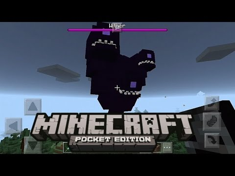 Cara Spawn Wither Storm !? - Minecraft PE (Pocket Edition) [New Intro]