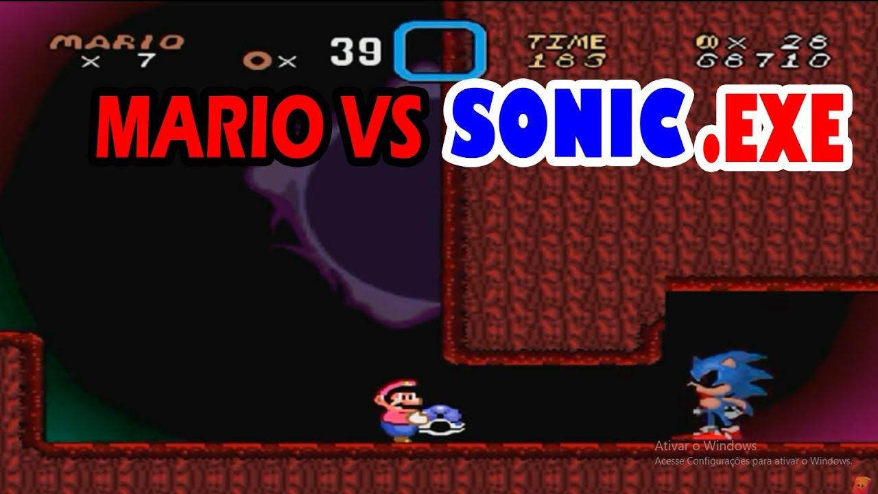 Mario Vs Sonic Exe 3 – Fondos de Pantalla