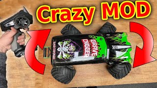 RC Grave Digger Monster Monster Jam Ultimate Modification