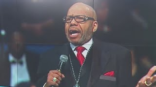 Aretha Franklin's family upset by pastor's eulogy at funeral