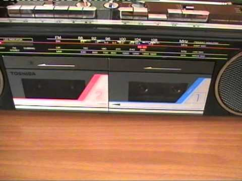 toshiba rt 8035 stereo radio cassette recorder youtube. Black Bedroom Furniture Sets. Home Design Ideas