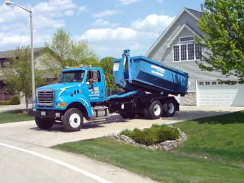 Roll-Off Dumpster Delivery to Morris Illinois