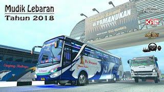 Mudik Lebaran 2018 VIP || Bus Haryanto Despacito