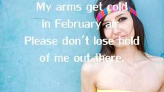 Lights - February Air ( Acoustic Version ) *lyrics*