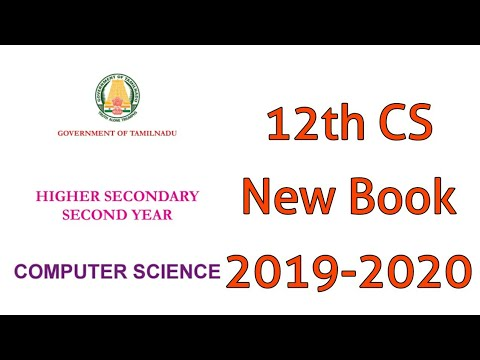 12th Computer Science Book