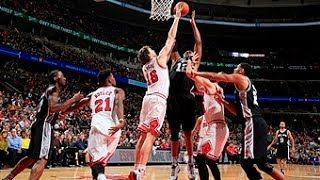 Chicago Bulls vs San Antonio Spurs - November 30, 2015