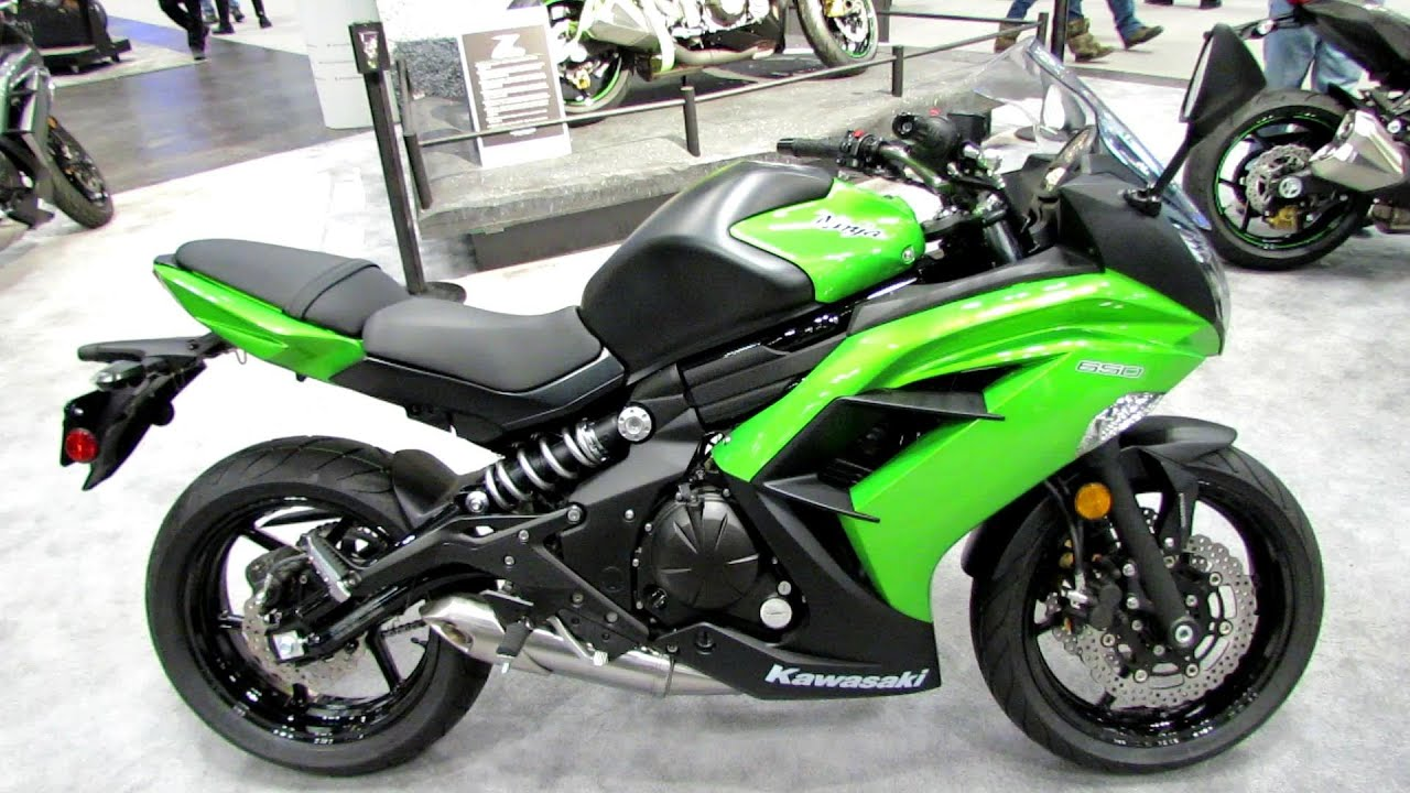 2014 Kawasaki Ninja 650 ABS Walkaround - 2013 New York Motorcycle ...