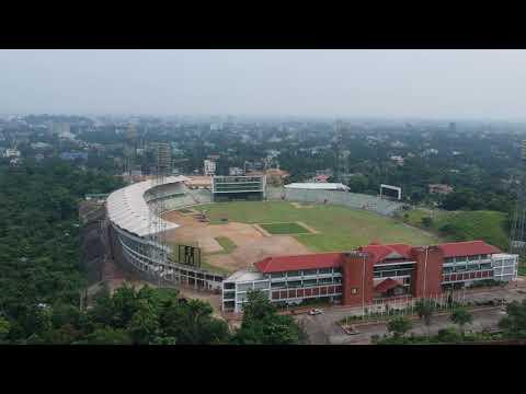 Sylhet International Stadium Arieal View
