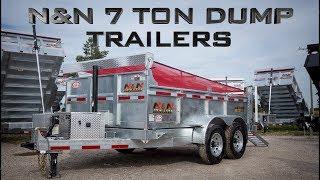 N&N Dump Trailers - 7 Ton Series - ACTION TRAILER SALES