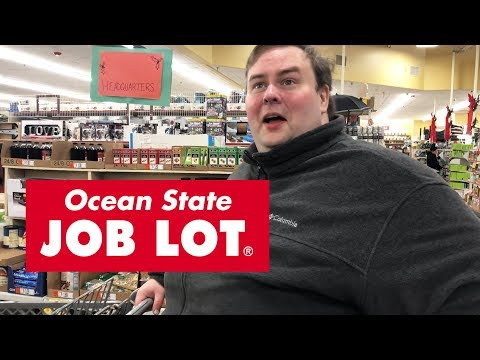 What's in Junt's Cart? - NEW Ocean State Job Lot