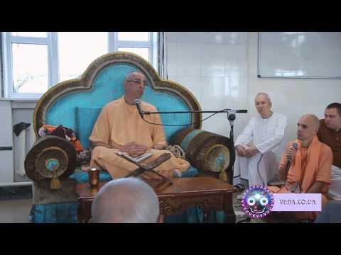 Бхагавад Гита 8.8 - Ниранджана Свами
