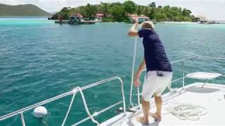 How To Pick Up a Mooring Ball in the British Virgin Islands