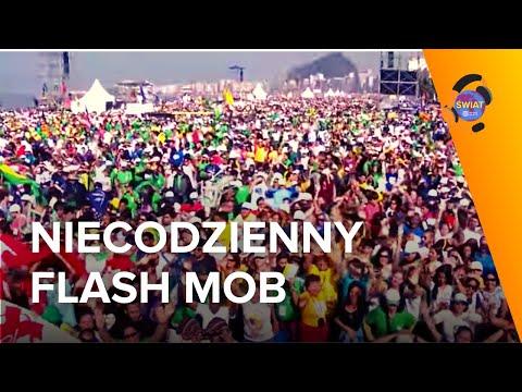 Flash Mob para Papa Francisco