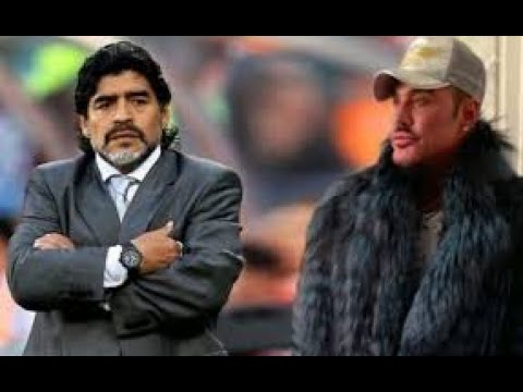 Un video desconocido revela un encuentro secreto entre Maradona y Ricardo Fort antes de la pelea