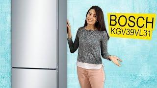 BOSCH KGV39VL31 - Обзор Стильного Двухкамерного Холодильника