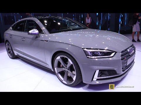 2017 Audi S5 Sportback - Exterior and Interior Walkaround - 2016 Paris Motor Show