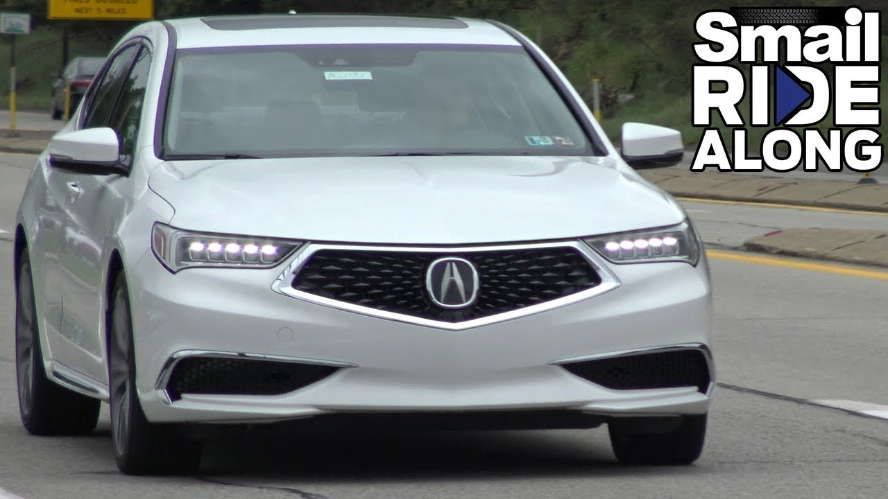 2020 Acura Tlx Sh Awd Review Test Drive Youtube