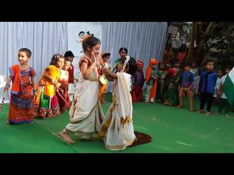MY NAME IS MADHAVI - Indian National Integration Rhyme For kidz..
