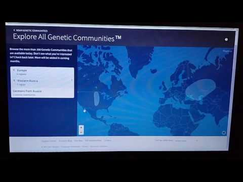Ancestry DNA part 2 genetic communities results