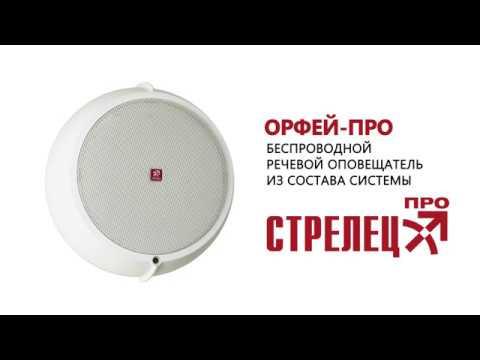 Орфей-ПРО. Новый беспроводной речевой оповещатель из состава Стрельца-ПРО