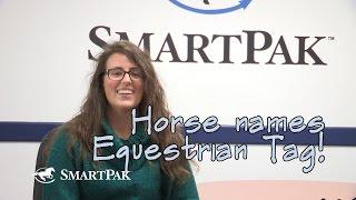 Horse Names Equestrian Tag - SmartPaker Emily